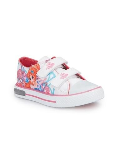 Pink Step Yürüyüş Ayakkabısı Beyaz